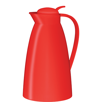 alfi® 1.0L Plastic Carafe w/ Glass Vacuum Insulation - Red
