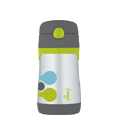 Foogo® Vacuum Insulated Straw Bottle