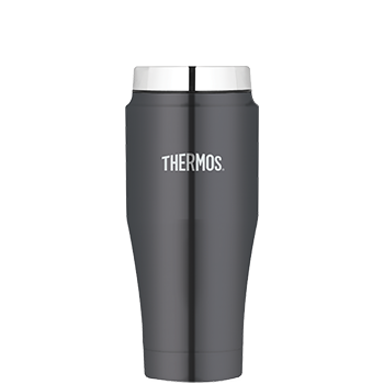 470 mL Stainless Steel Vacuum Insulated Travel Tumbler in Smoke