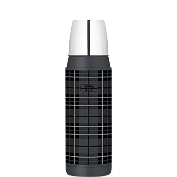 Heritage Plaid Compact Bottle in Grey