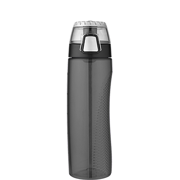 Smoke Hydration Bottle with Rotating Meter on Lid