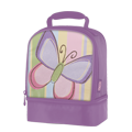 Butterflies in Bloom Dual Compartment Lunch Kit