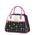 Love & Peace Novelty Lunch Purse