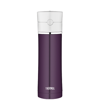 Hydration Bottle - Plum Trim