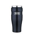 Stainless King™ Vacuum Insulated Travel Tumbler in Midnight Blue