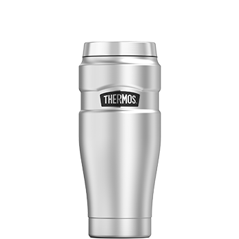 Stainless King™ Vacuum Insulated Travel Tumbler in Stainless Steel