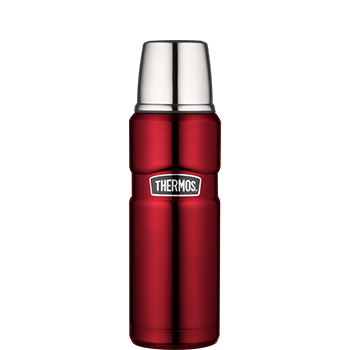 Stainless King™ 470 mL Vacuum Insulated Beverage Bottle in Cranberry