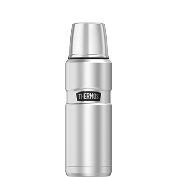 Stainless King™ 470 mL Vacuum Insulated Beverage Bottle in Stainless