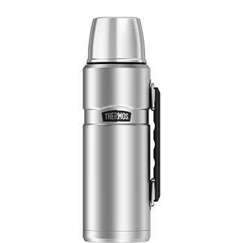 Stainless King™ 1.2 L Vacuum Insulated Beverage Bottle in Stainless