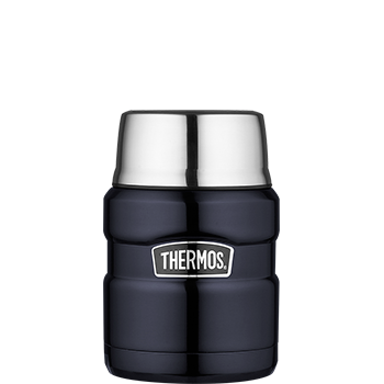 Stainless King™ 470 mL Vacuum Insulated Food Jar in Midnight Blue