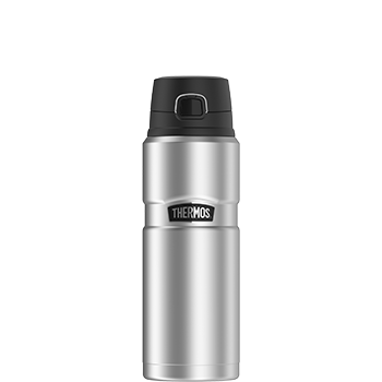 Stainless King™ Direct Drink Bottle in Stainless Steel