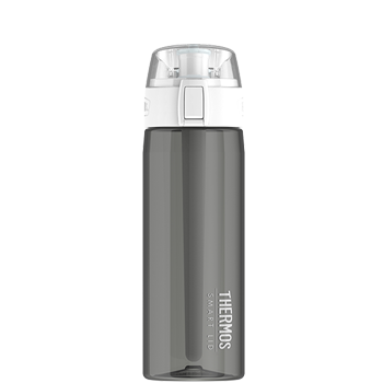 Connected Hydration Bottle with Smart Lid - Smoke
