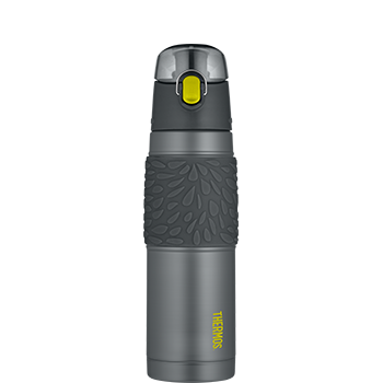 Vacuum Insulated 530 mL Charcoal with Lime Hydration Bottle