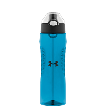 Under Armour® Blue Elevate Hydration Bottle with Flip Lid