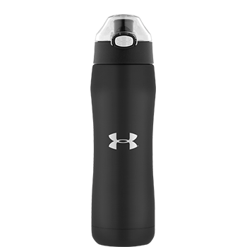 Under Armour® Beyond Vacuum Insulated Black Matte Hydration Bottle