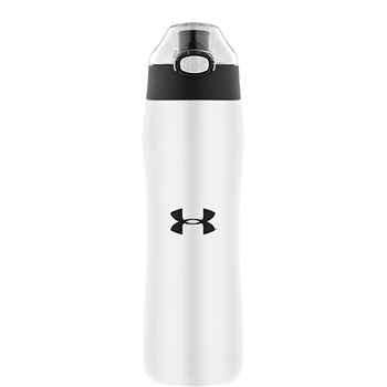 Under Armour® Matte White Vacuum Insulated Hydration Bottle